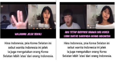 Viral, Di Instagram Pria Korea Selatan Hina Wanita Indonesia Jelek
