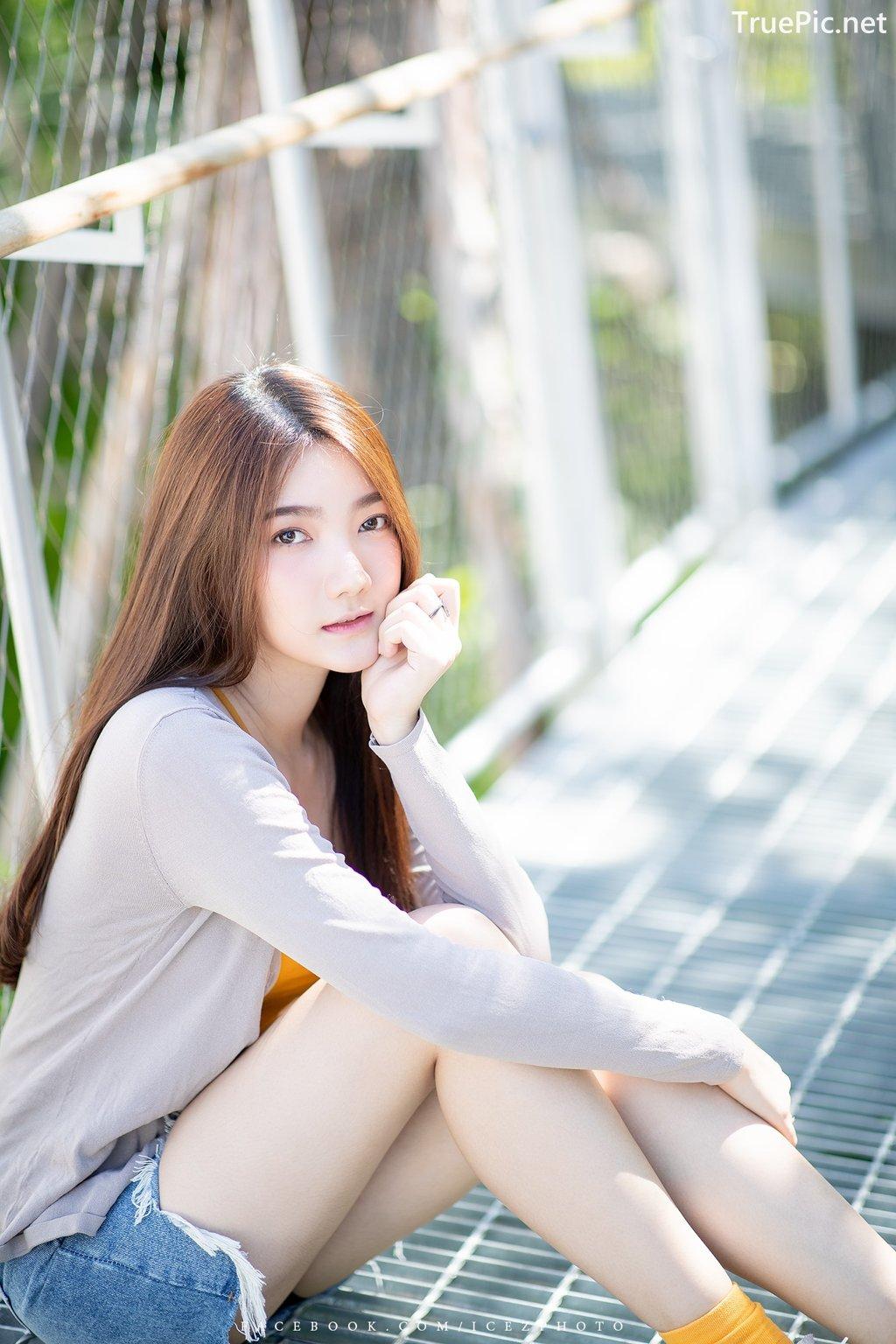 Image-Thailand-Cute-Model-Creammy-Chanama-Beautiful-Angel-In-Flower-Garden-TruePic.net- Picture-8