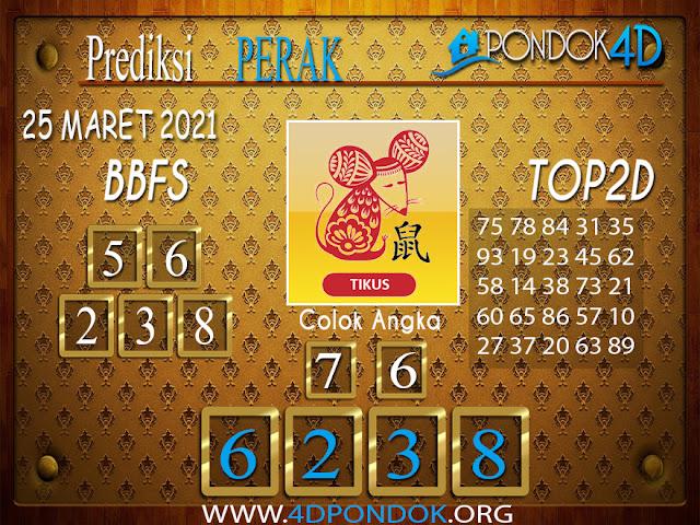Prediksi Togel PERAK PONDOK4D 25 MARET 2021
