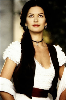 sexy Catherine Zeta Jones in The Mask of Zorro 1998