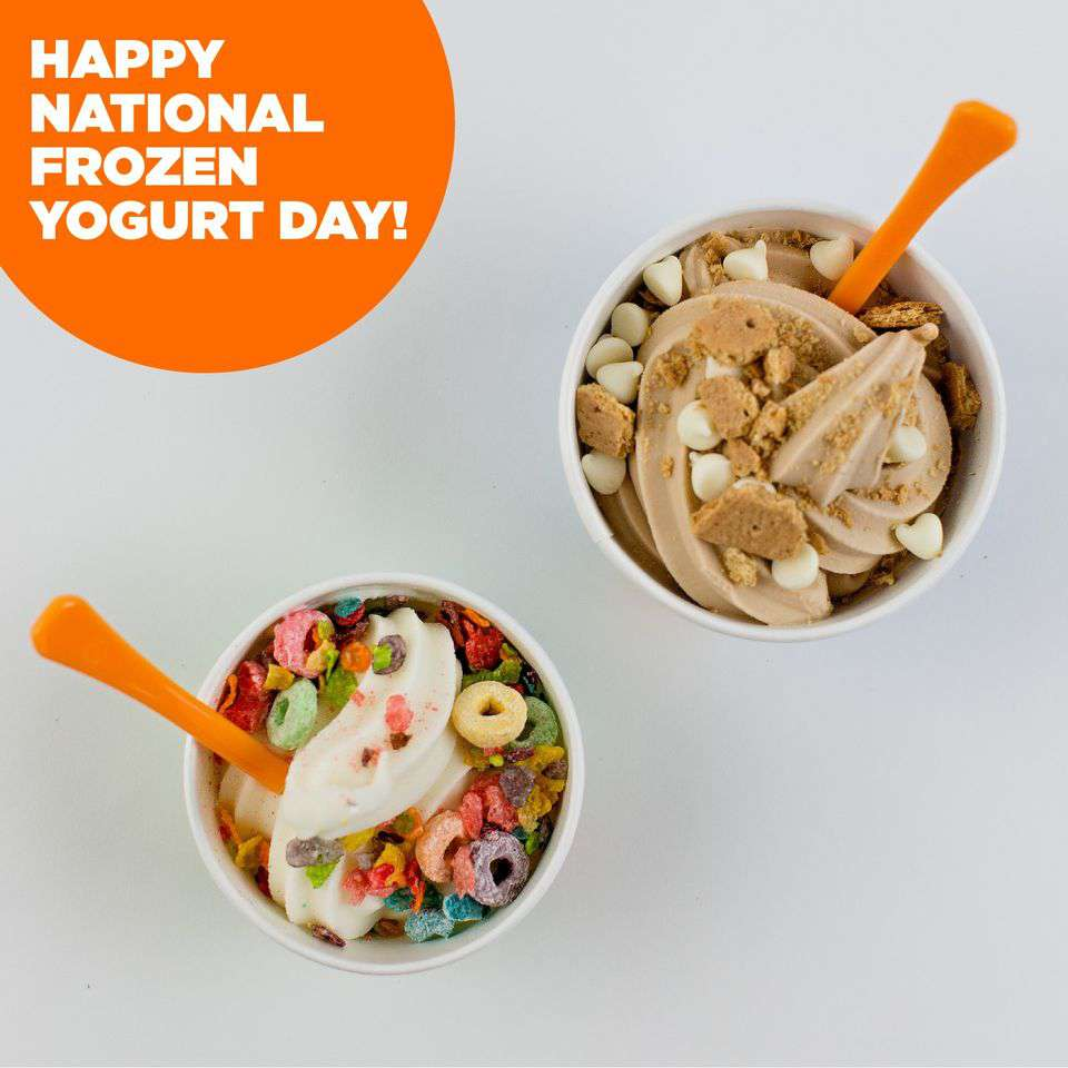 National Frozen Yogurt Day Wishes Awesome Images, Pictures, Photos, Wallpapers