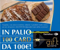 Concorso LINDT 2021 : da Carrefour vinci 100 Card da 100€