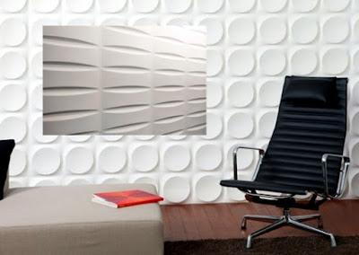 نظام الجدار الزخرفي ثلاثي الأبعاد