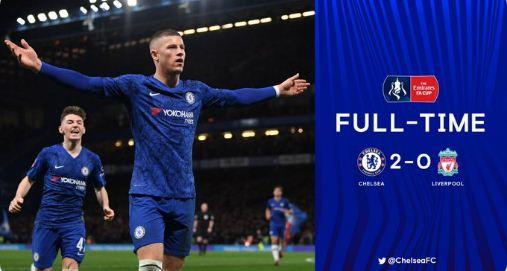 Chelsea vs Liverpool 2-0 Highlights