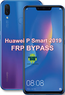 Huawei P Smart 2019 POT-LX1 FRP Bypass Downgrade Offical Stock RomFirmwareFlash file Download