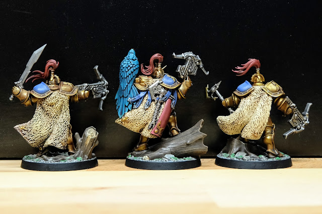 Back view of finished Farstriders
