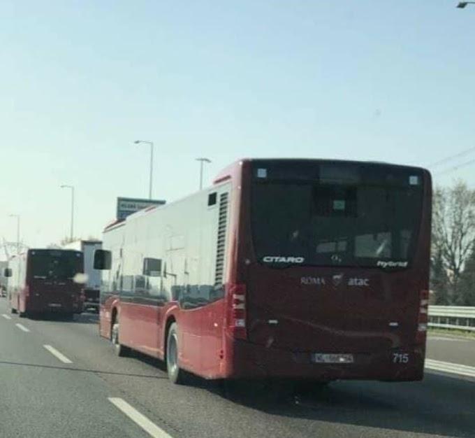 Atac: in arrivo a Roma i nuovi bus ibridi