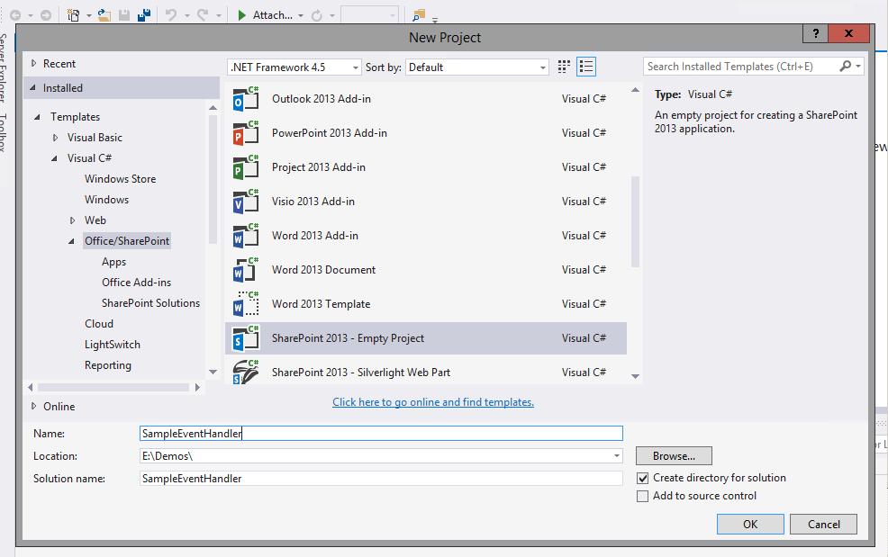 Lucky Tech Share: Custom Event Handler in Sharepoint 2013 using ...