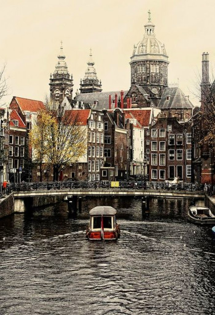 Top 10 Beautiful Cities to Celebrate Christmas | Amsterdam, Netherlands