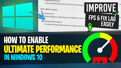 How to Enable Windows 10 ULTIMATE Performance Mode
