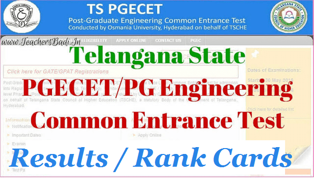 tspgecet 2018 results,telangana pgecet 2018 results,pg engineering entrance exam results 2018,ts pgecet entrance test 2018 results,ou pgecet 2018 results, tspgecet.org results 2018,ts pgecet 2018 results,pgecet results 2018
