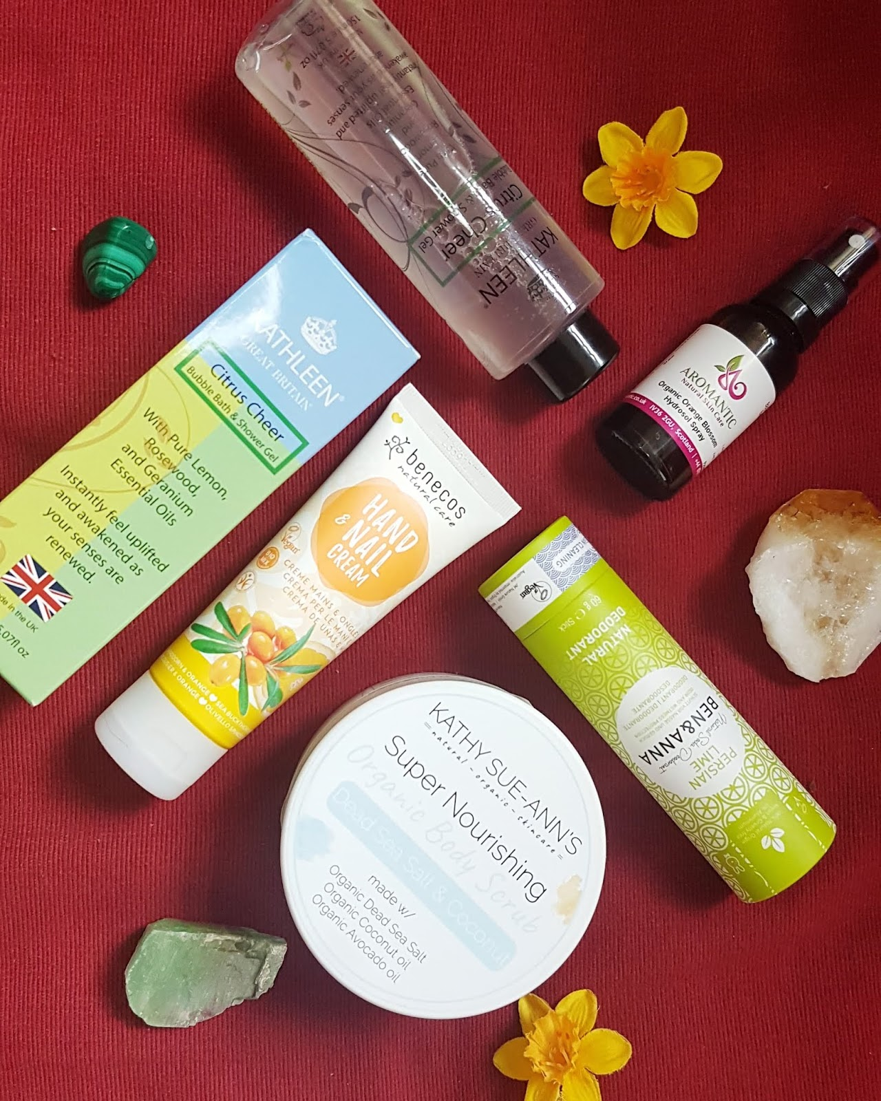The Natural Beauty Box Review - Fresh & Fruity