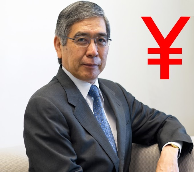 خطاب هاروهيكو كورودا محافظ بنك اليابان هل يعطى حركه صعودية ام هبوطية للين