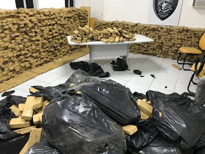 Polícia Civil apreende droga avaliada em mais de R$ 5 milhões na Grande São Luís