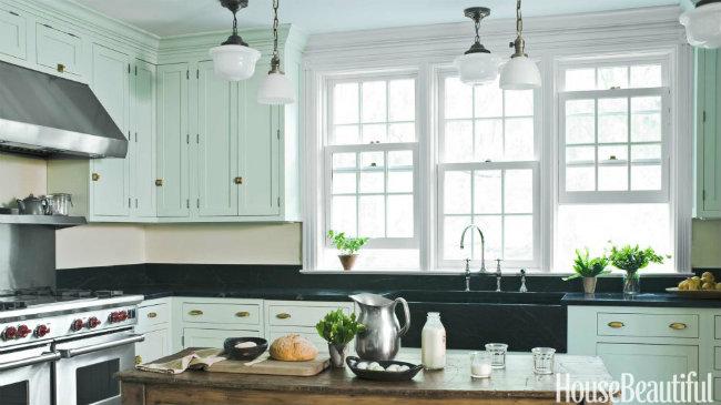 Những gam màu phù hợp nhất với nhà bếp, có lợi cho gia chủ