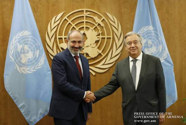 La ONU apoya agenda de reformas de Armenia