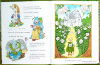 Once Upon a Wild Wood by Chris Riddell Eventually she came to a castle.