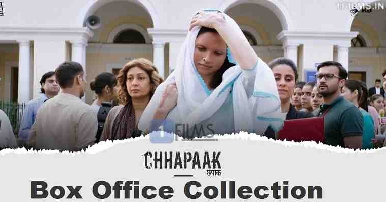 Chhapaak Day-wise Box Office Collection Report, Screen ...