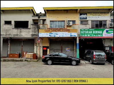 IPOH JELAPANG MAJU 1-1/2 STOREY TERRACE FACTORY FOR SALE (I00253) - RM170K (NEG)