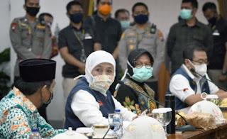 Jatim Makin Mengkhawatirkan, Para Menteri Turun ke Surabaya Gelar Rapat Khusus