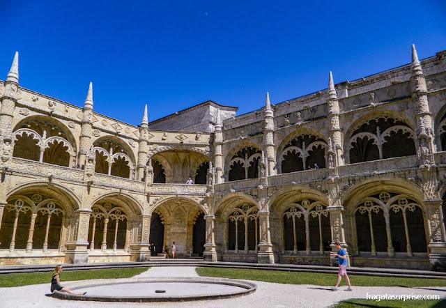 Claustro principal do Mosteiro dos Jerónimos, Lisboa