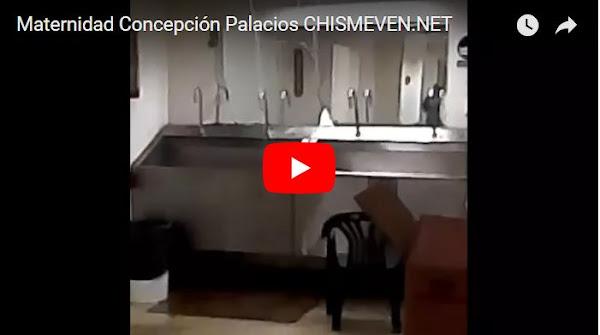 Maternidad Concepción Palacios se inunda por falta de mantenimiento