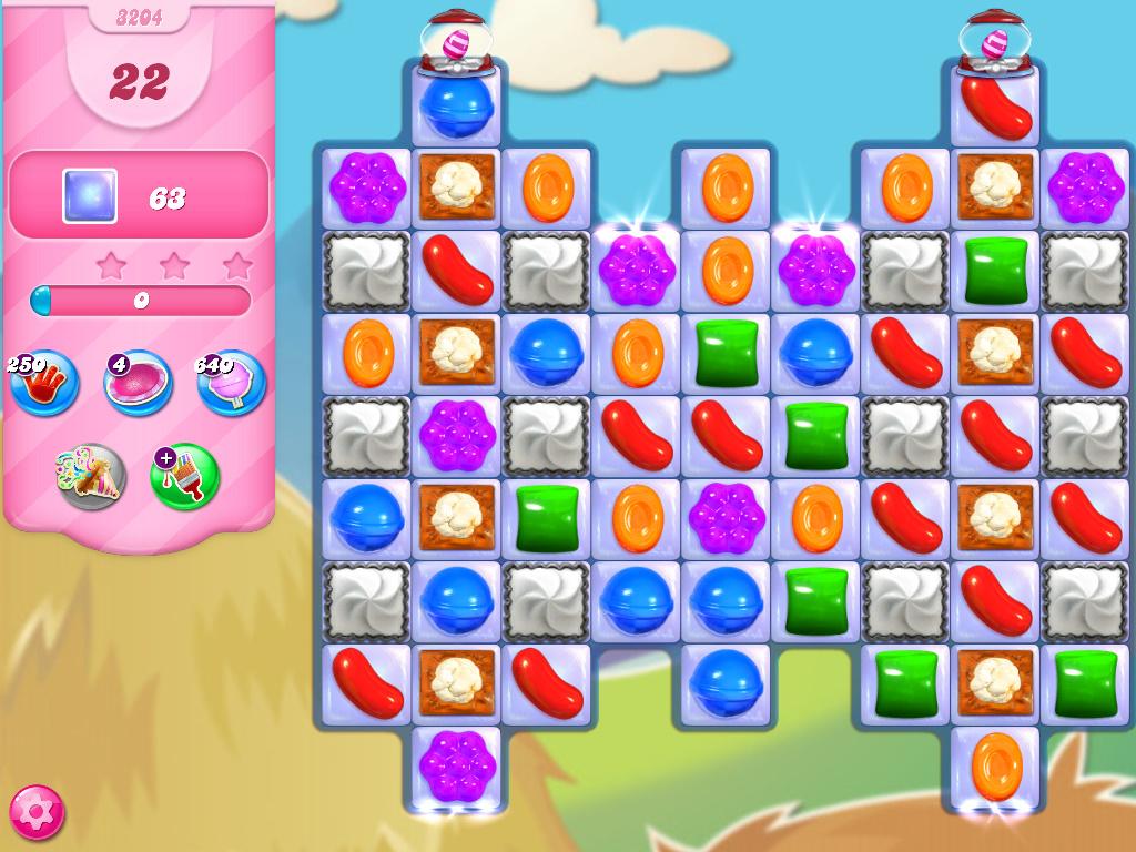 Candy Crush Saga level 3204
