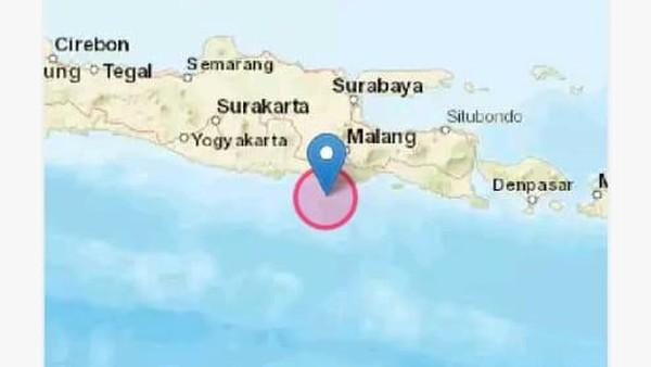Ini Penyebab Gempa Blitar M 5,9