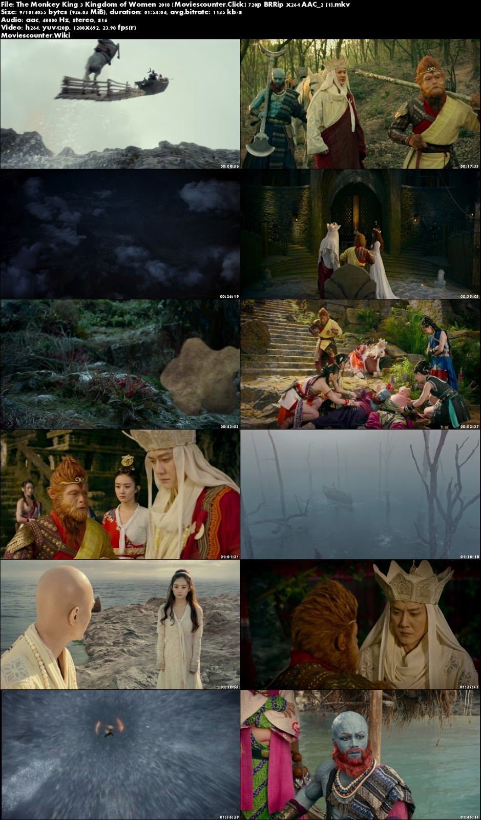 Screen Shots The Monkey King 3 2018 Chinese HD 720p