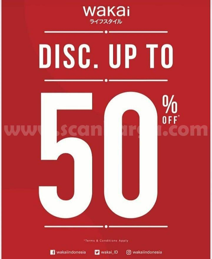 WAKAI Special Discount Up To 50% Off