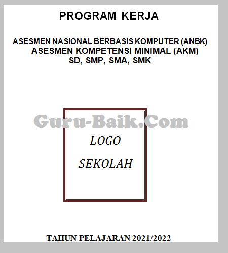 gambar cover program kerja anbk