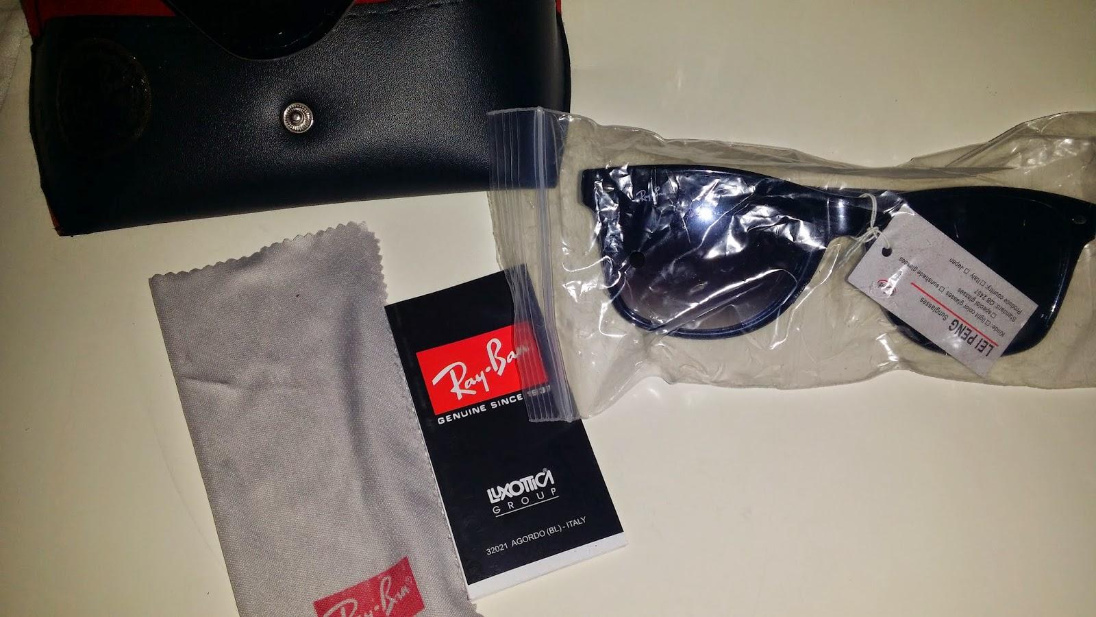 Hoy os traigo mi experiencia con unas gafas de imitación de ray-ban que me  vendieron como originales. Esto es lo que me llegó  28cc4f0081
