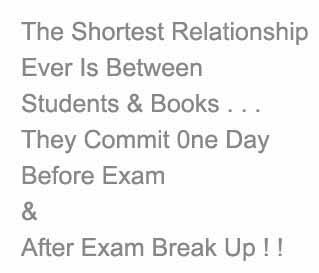Common Sense And Fun Funny Exam Quotes