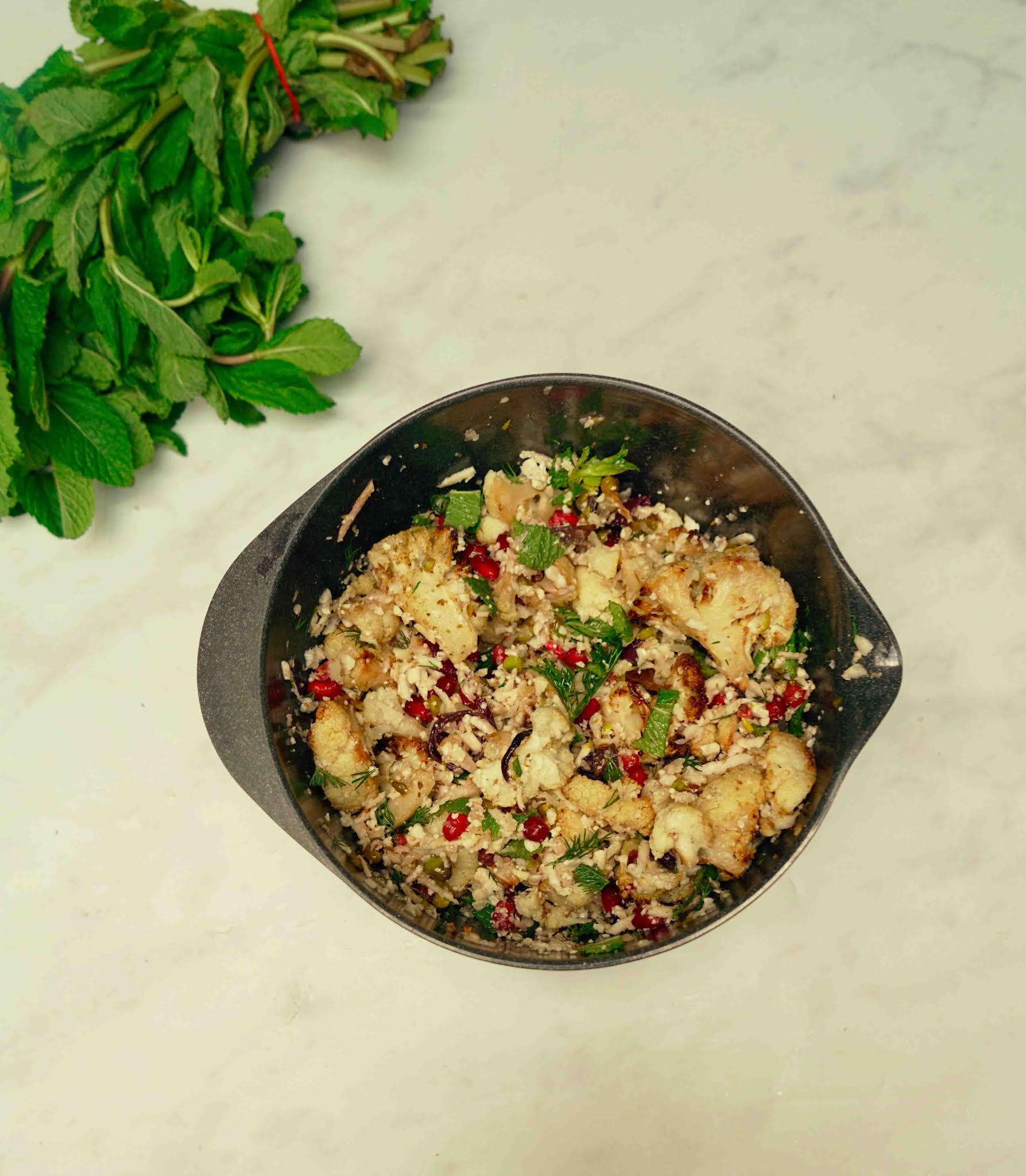 chou-fleur , salade , cuisine healthy