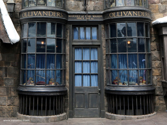 Wands at Ollivanders