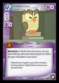 My Little Pony Owlowiscious, Astute Avian Equestrian Odysseys CCG Card
