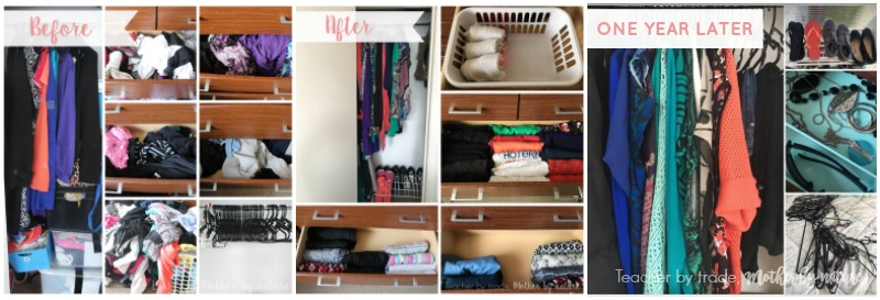 My KonMari Journey One Year Later