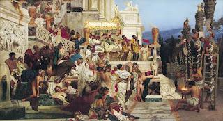 persecución, cristianos en el circo,