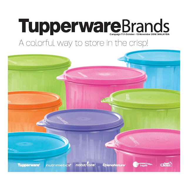 tupperware catalog 01 october 2016 13 november 2016 tupperware kakakshop tupperware. Black Bedroom Furniture Sets. Home Design Ideas