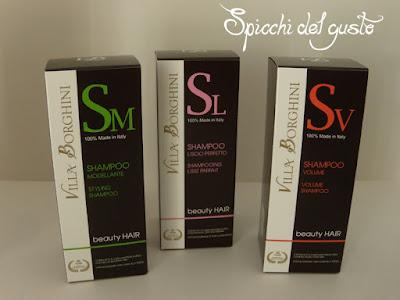 shampoo villa borghini