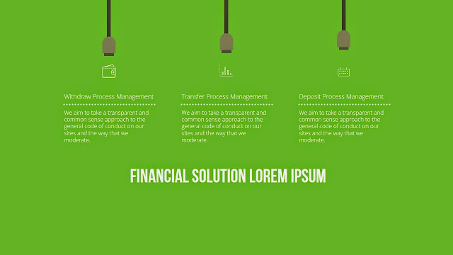 Free infographic ppt download with Mobile financial services slide2