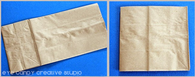 brown paper lunch bag, how to make a card, teacher gift idea