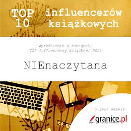 TOP influencerzy książkowi 2021