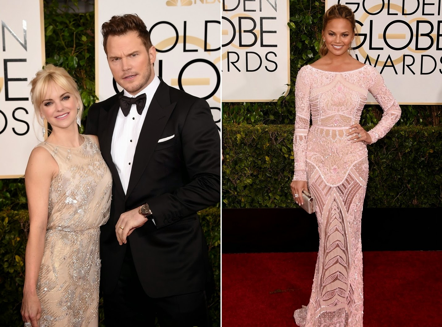 Os looks do Globo de Ouro 2015