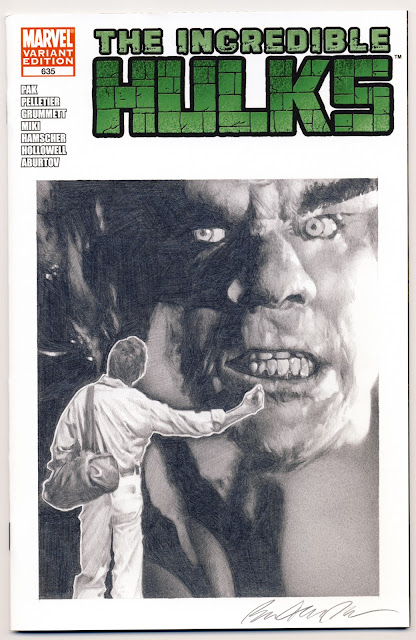 THE INCREDIBLE HULK #635 Ferrigno Style - Ben Temples