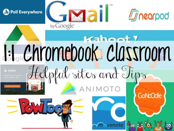 Life in Fifth Grade: 1:1 Chromebook Classroom- Helpful Tips and Sites