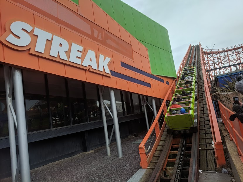 How To Spend 48 Hours in Blackpool with a Merlin Annual Pass (Itinerary and Tips) - Nickelodeon Streak Rollercoaster