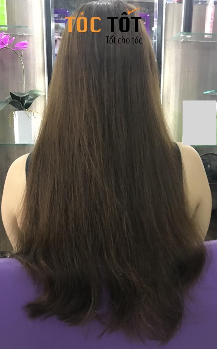 Review 3 mẫu tóc uốn C tầng, duỗi và nhuộm màu 5/62