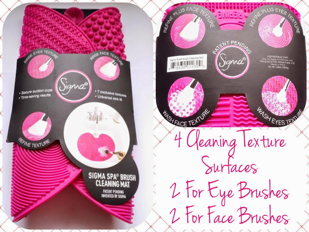 Cdel Beauty Sigma Spa Brush Cleaning Mat Review