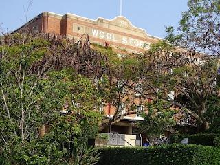Brisbane-Teneriffe Wool Store Apartments Aussenfront
